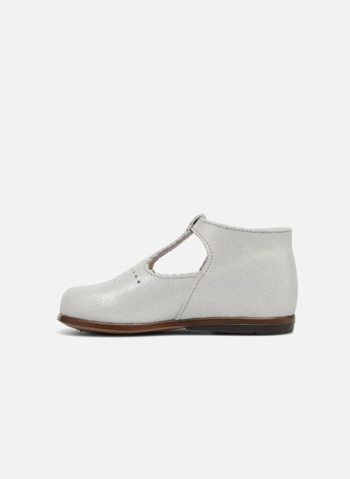 Ankle boots Little Mary Floriane Silver front view