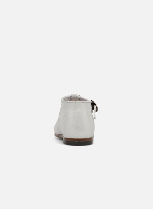 Ankle boots Little Mary Floriane Silver view from the right