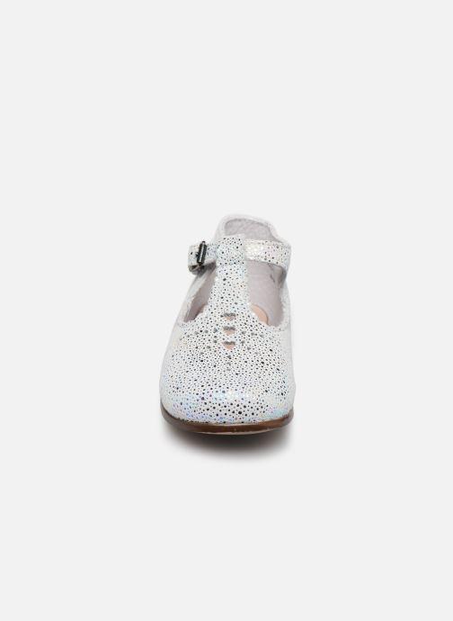 Bottines et boots Little Mary Floriane Blanc vue portées chaussures
