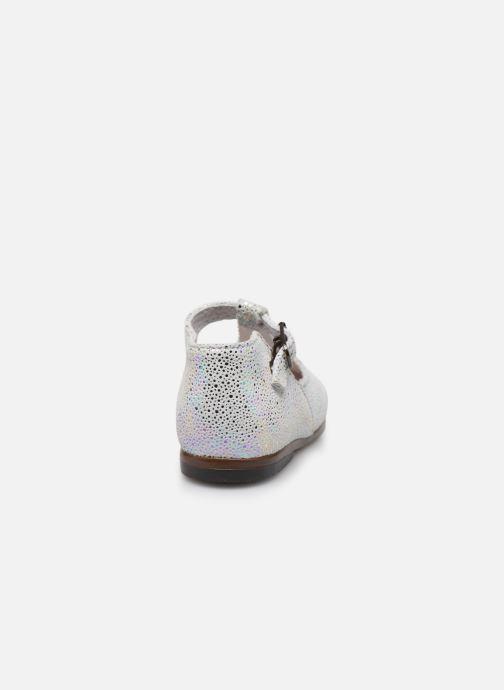Bottines et boots Little Mary Floriane Blanc vue droite
