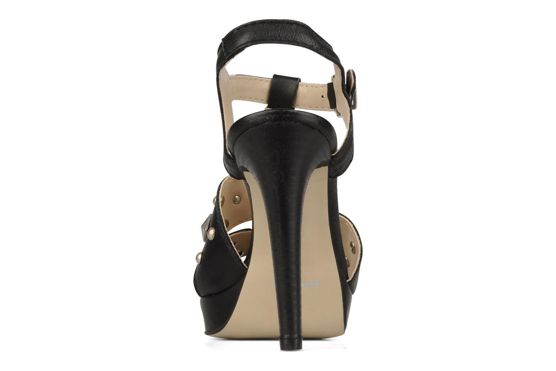 Sandales et nu-pieds Eden Oreade Noir vue droite
