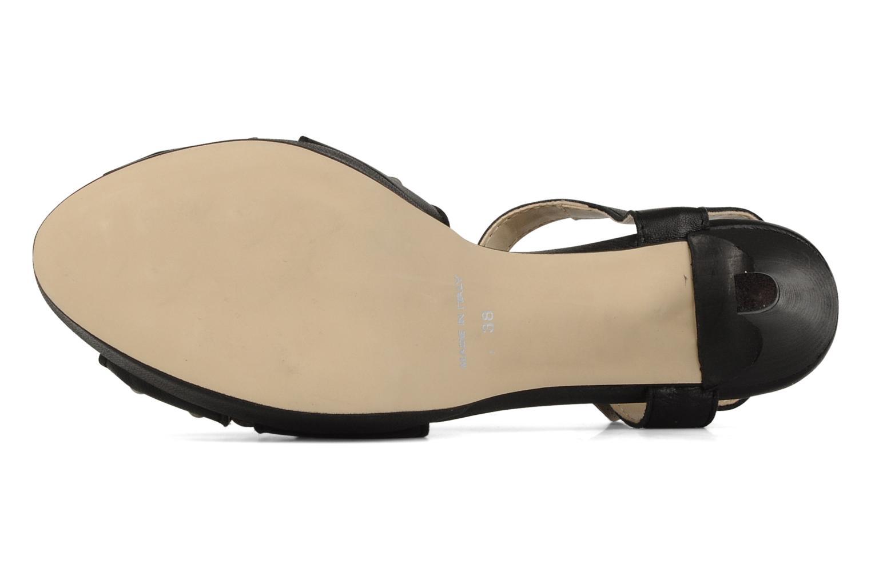 Sandales et nu-pieds Eden Oreade Noir vue haut