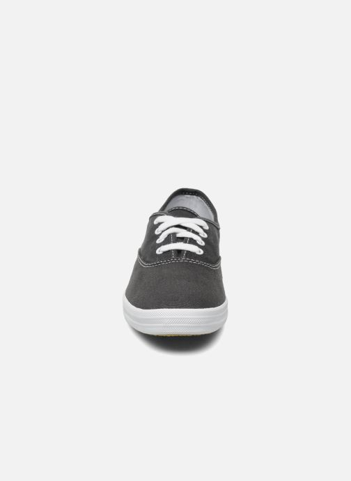 Trainers Keds Champion Canvas Blue model view
