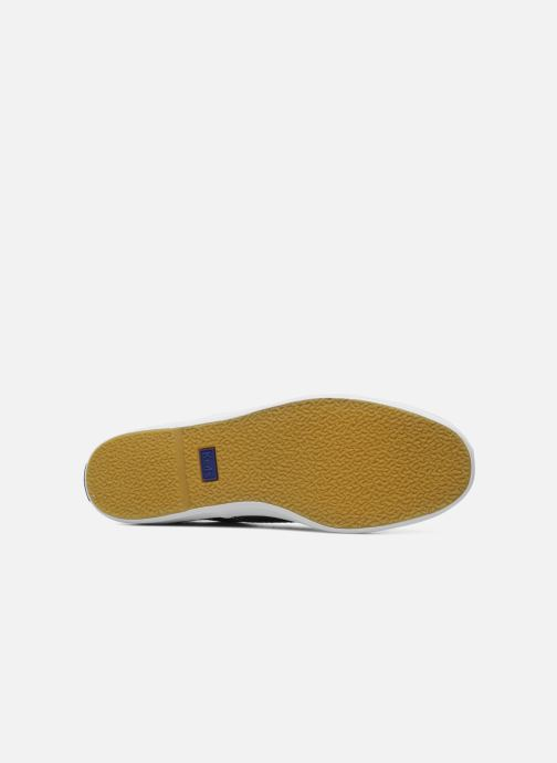 Baskets Keds Champion Canvas Bleu vue haut