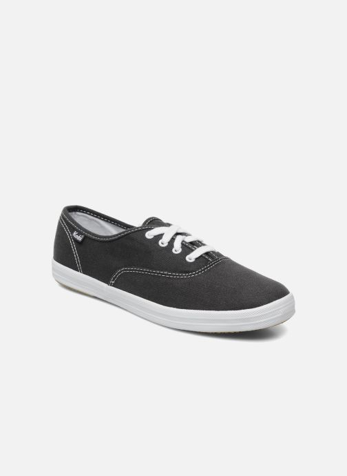 Baskets Keds Champion Canvas Bleu vue détail/paire