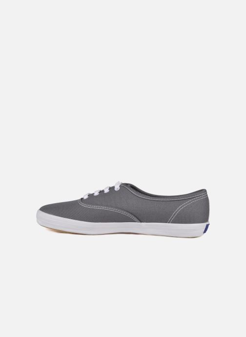 Baskets Keds Champion Canvas Gris vue face