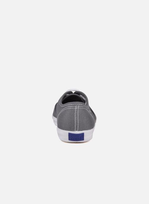 Sneakers Keds Champion Canvas Grigio immagine destra