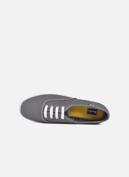Baskets Keds Champion Canvas Gris vue gauche