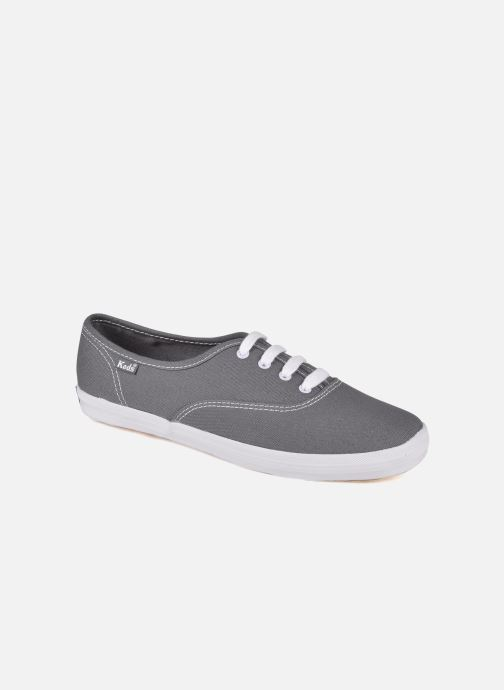 Baskets Keds Champion Canvas Gris vue détail/paire