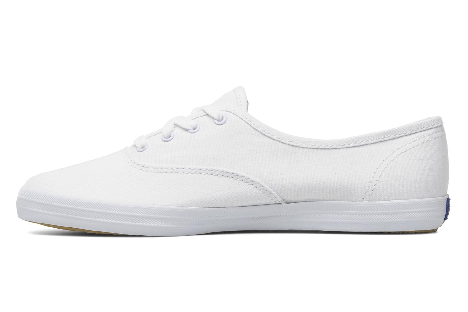 Baskets Keds Champion Canvas Blanc vue face