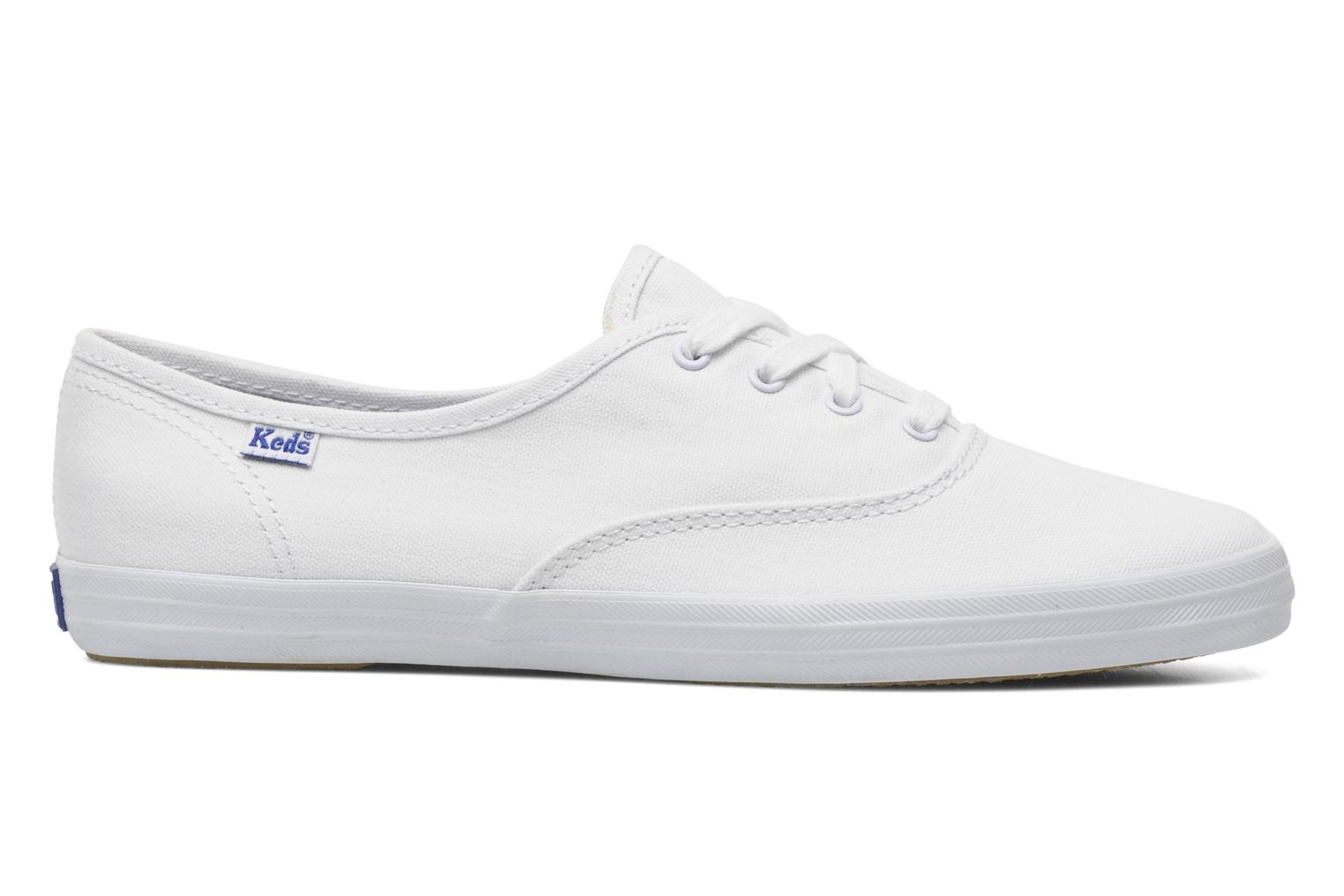 Baskets Keds Champion Canvas Blanc vue derrière