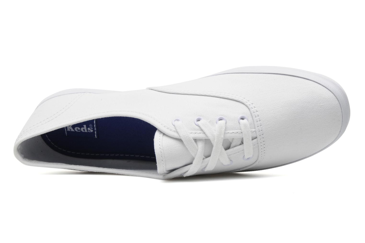 Baskets Keds Champion Canvas Blanc vue gauche