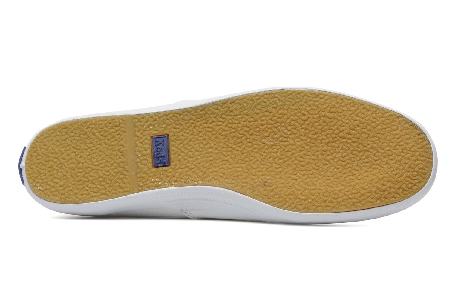 Baskets Keds Champion Canvas Blanc vue haut
