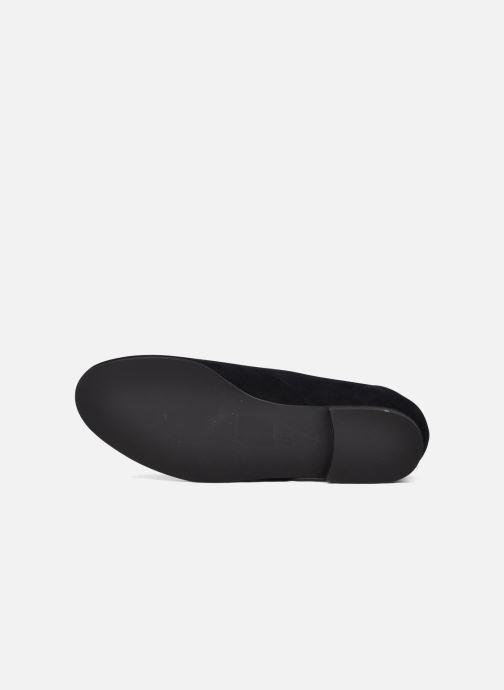 Chaussures à lacets Planisphere Nelly papaye Bleu vue haut