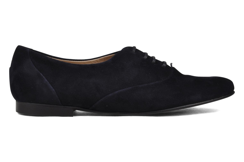 Chaussures à lacets Planisphere Nelly papaye Bleu vue derrière