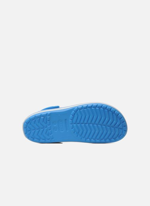 Sandals Crocs Crocband M Blue view from above