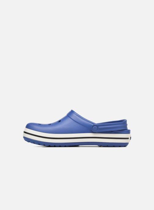Sandales et nu-pieds Crocs Crocband M Bleu vue face