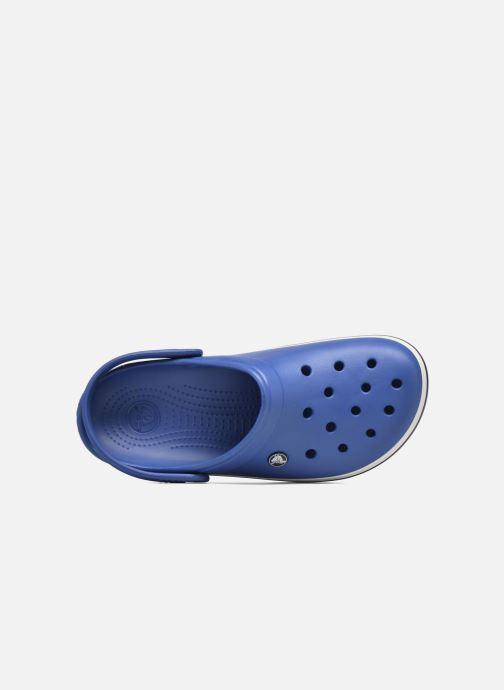 Sandalias Crocs Crocband M Azul vista lateral izquierda