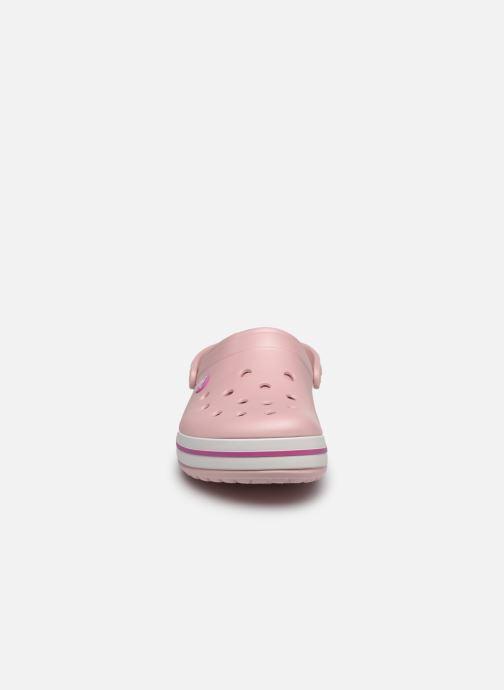 Sandales et nu-pieds Crocs Crocband M Rose vue portées chaussures