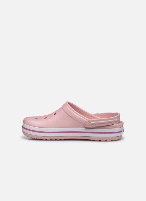 Sandales et nu-pieds Crocs Crocband M Rose vue face