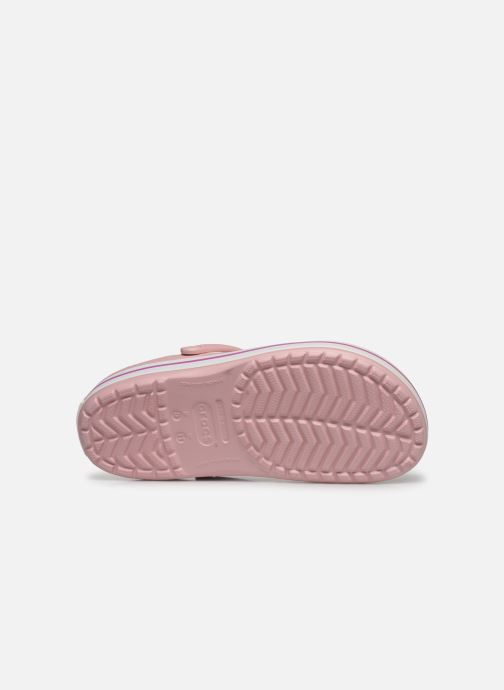 Sandals Crocs Crocband M Pink view from above