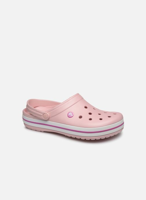 Sandals Crocs Crocband M Pink detailed view/ Pair view
