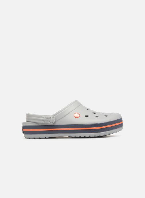Sandales et nu-pieds Crocs Crocband M Gris vue derrière
