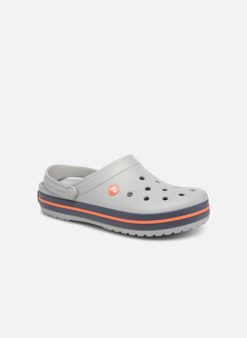 Sandales et nu-pieds Crocs Crocband M Gris vue détail/paire
