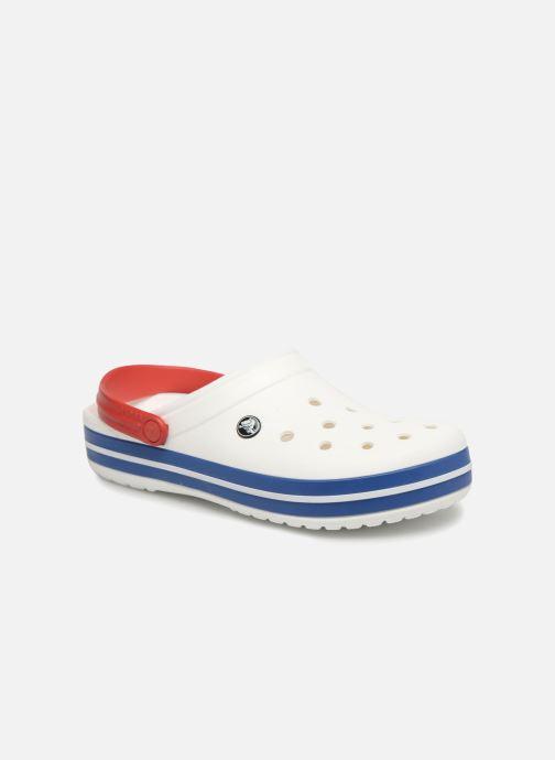 Sandalias Crocs Crocband M Blanco vista de detalle / par