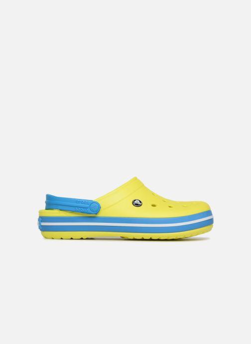 Sandales et nu-pieds Crocs Crocband M Jaune vue derrière