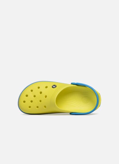 Sandales et nu-pieds Crocs Crocband M Jaune vue gauche