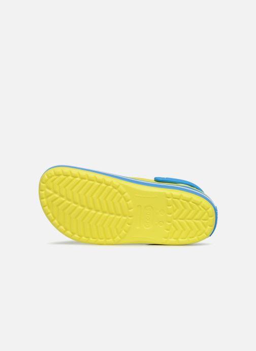 Sandales et nu-pieds Crocs Crocband M Jaune vue haut