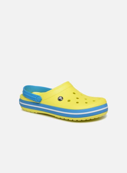 Sandales et nu-pieds Crocs Crocband M Jaune vue détail/paire