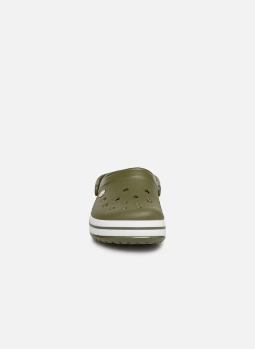 Sandalias Crocs Crocband M Verde vista del modelo