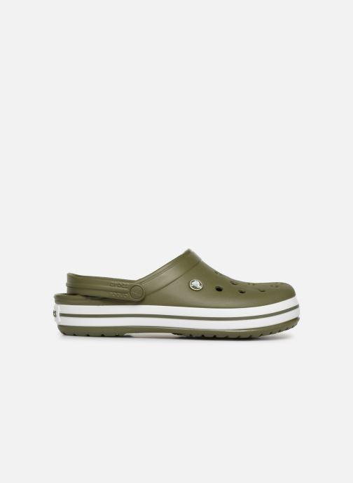 Sandales et nu-pieds Crocs Crocband M Vert vue derrière