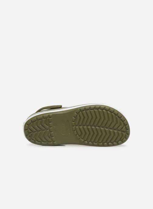Sandales et nu-pieds Crocs Crocband M Vert vue haut