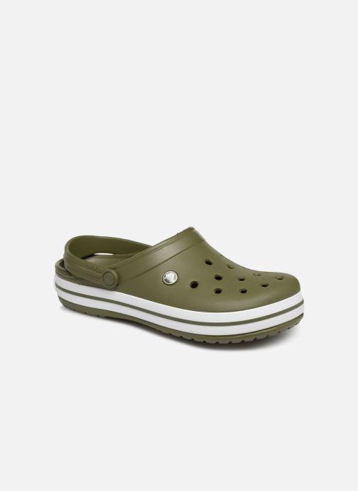 Sandales et nu-pieds Crocs Crocband M Vert vue détail/paire