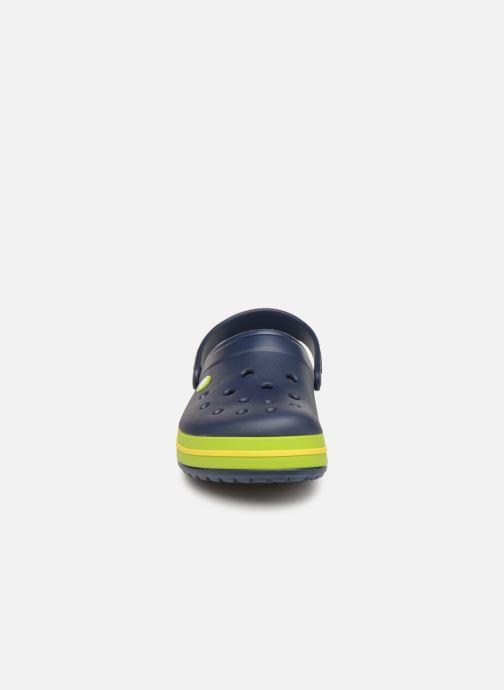 Sandalias Crocs Crocband M Azul vista del modelo