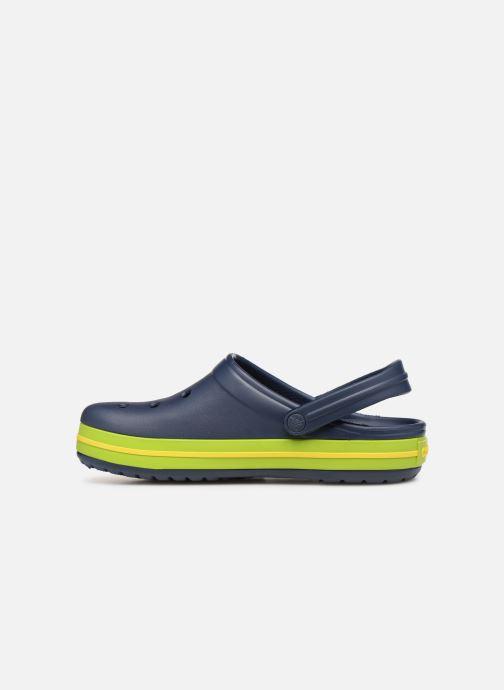Sandalias Crocs Crocband M Azul vista de frente