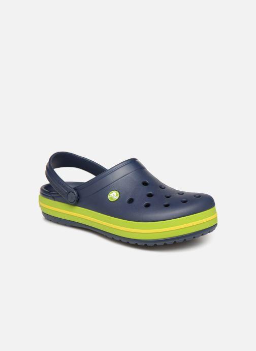 Sandales et nu-pieds Crocs Crocband M Bleu vue détail/paire