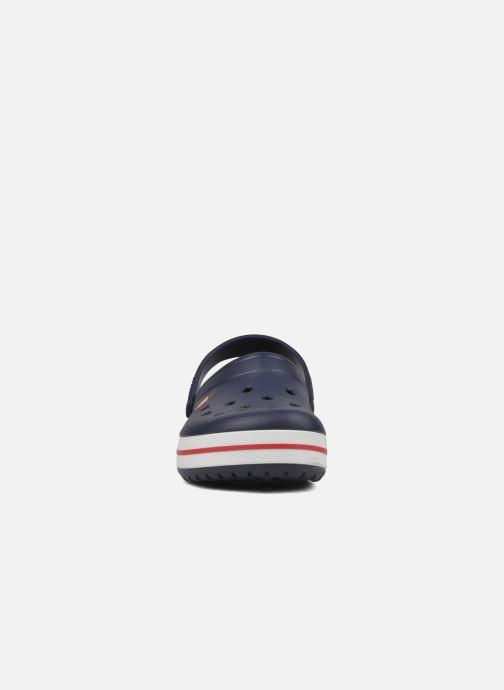 Sandales et nu-pieds Crocs Crocband M Bleu vue portées chaussures