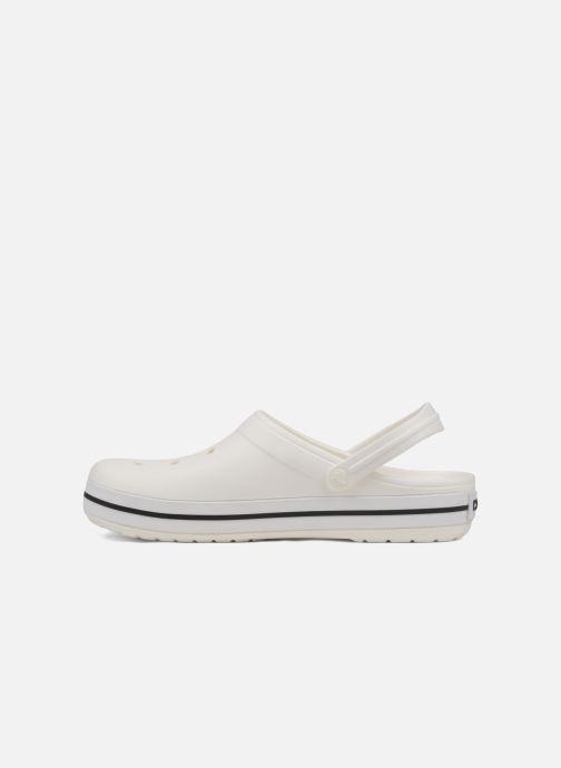 Sandales et nu-pieds Crocs Crocband M Blanc vue face