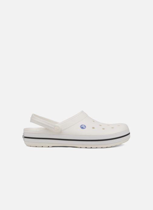 Sandales et nu-pieds Crocs Crocband M Blanc vue derrière