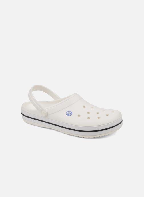Sandals Crocs Crocband M White detailed view/ Pair view