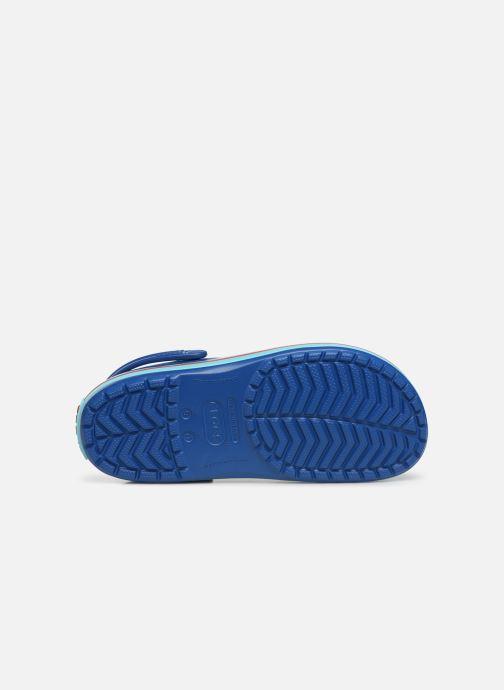 Sandales et nu-pieds Crocs Crocband M Bleu vue haut
