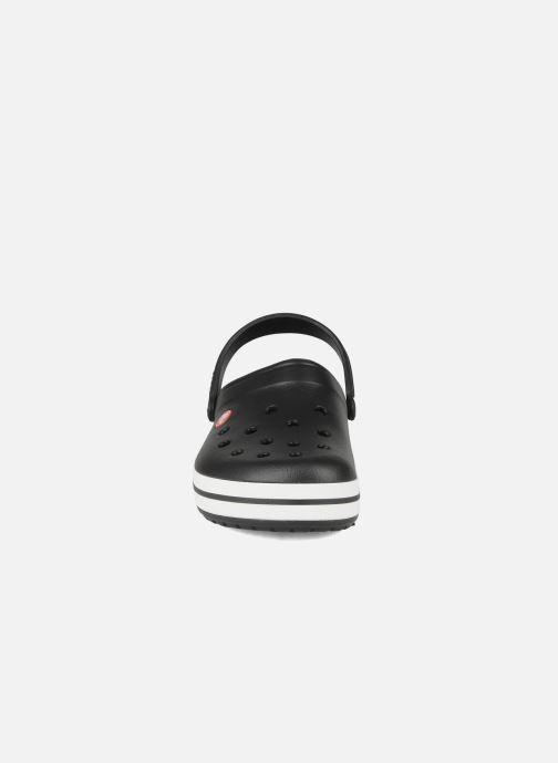 Sandalen Crocs Crocband M schwarz schuhe getragen