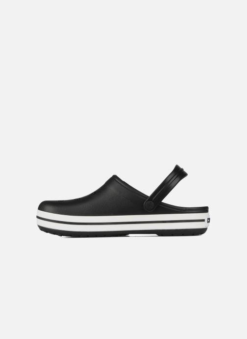 Sandales et nu-pieds Crocs Crocband M Noir vue face