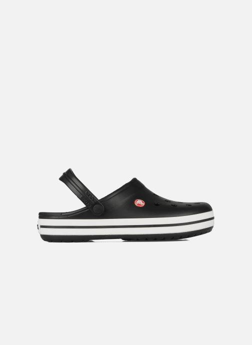 Sandales et nu-pieds Crocs Crocband M Noir vue derrière