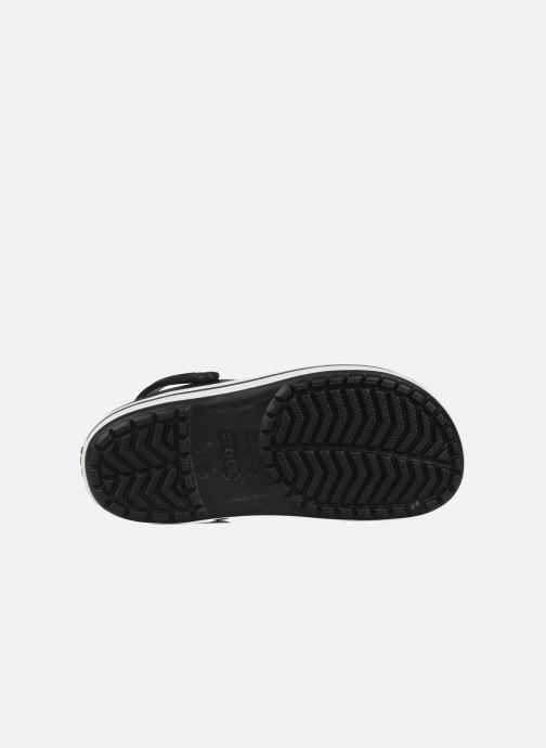 Sandales et nu-pieds Crocs Crocband M Noir vue haut