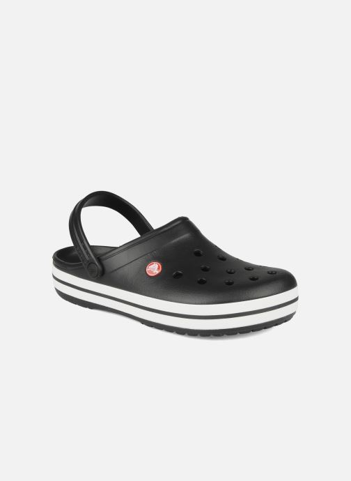 Sandales et nu-pieds Crocs Crocband M Noir vue détail/paire